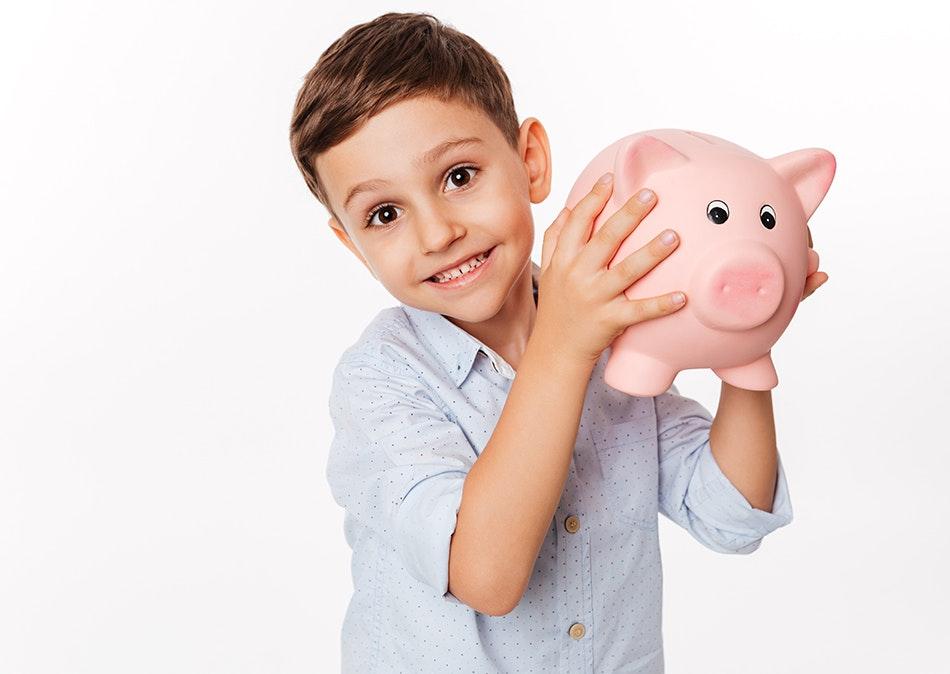 5 fun ways to teach kids about money banner